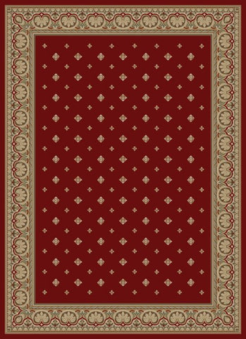Concord Global Trading Ankara Pin Dot Red Area Rug - KINGDOM RUGS - 1