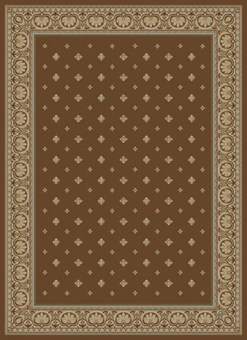 Concord Global Trading Ankara Pin Dot Brown Area Rug - KINGDOM RUGS - 1