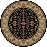 Concord Global Trading Ankara Agra Black Area Rug - KINGDOM RUGS - 2