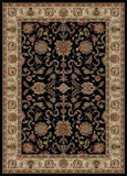 Concord Global Trading Ankara Agra Black Area Rug - KINGDOM RUGS - 1