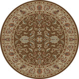 Concord Global Trading Ankara Agra Brown Area Rug - KINGDOM RUGS - 2