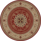 Concord Global Trading Ankara Chateau Red Area Rug - KINGDOM RUGS - 2