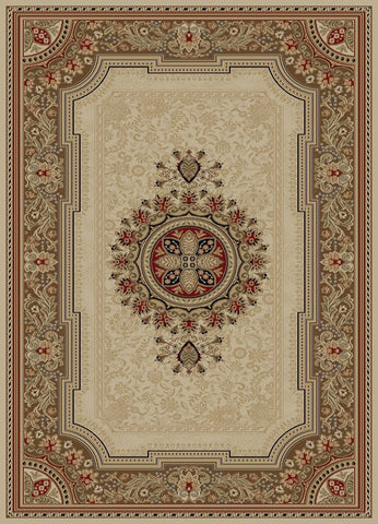 Concord Global Trading Ankara Chateau Ivory Area Rug - KINGDOM RUGS - 1