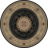Concord Global Trading Ankara Chateau Black Area Rug - KINGDOM RUGS - 2