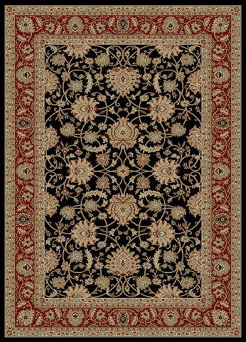 Concord Global Trading Ankara Mahal Black Area Rug - KINGDOM RUGS - 1