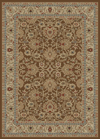 Concord Global Trading Ankara Mahal Brown Area Rug - KINGDOM RUGS - 1