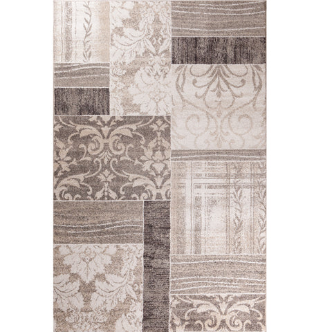 Concord Global Trading Casa Symphony Ivory Area Rug - KINGDOM RUGS