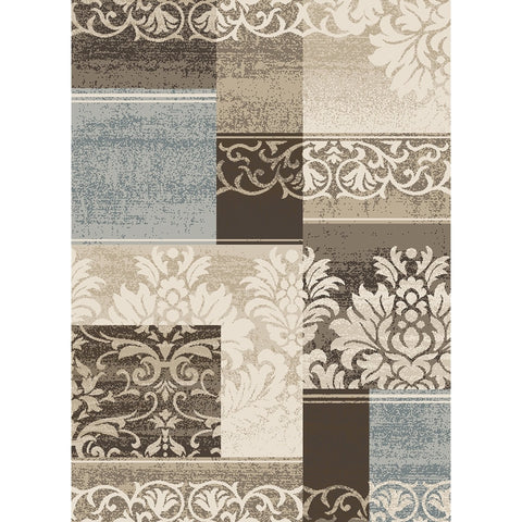 Concord Global Trading Casa Capri Ivory Area Rug - KINGDOM RUGS
