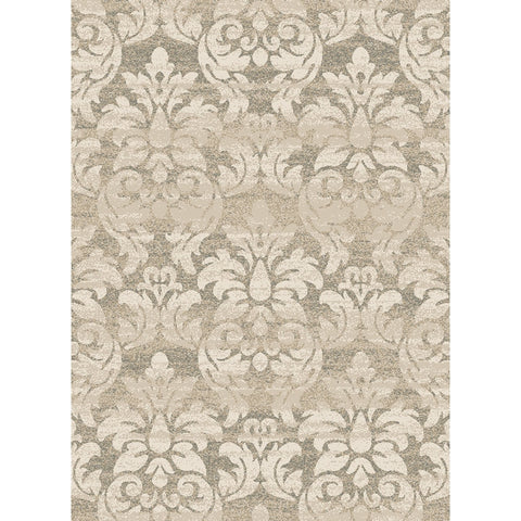 Concord Global Trading Casa Majestic Ivory Area Rug - KINGDOM RUGS