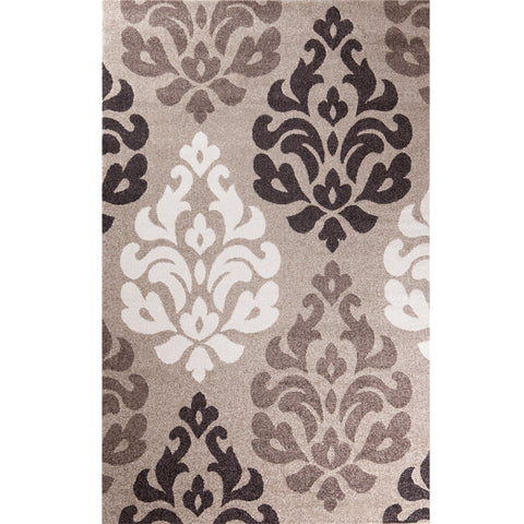 Concord Global Trading Casa Victoria Beige Area Rug - KINGDOM RUGS