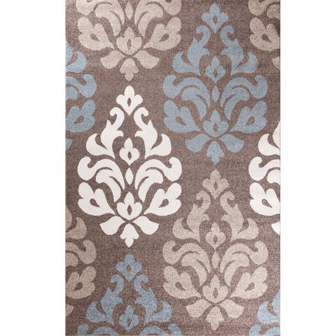 Concord Global Trading Casa Victoria Brown Area Rug - KINGDOM RUGS