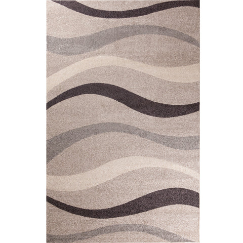 Concord Global Trading Casa Contour Beige Area Rug - KINGDOM RUGS