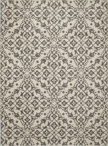 Concord Global Trading New Casa Medallions Ivory / Grey Area Rug - KINGDOM RUGS - 1