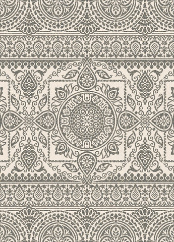 Concord Global Trading New Casa Aubosson Grey Area Rug - KINGDOM RUGS - 1