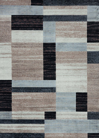 Concord Global Trading Matrix City Blocks Beige Area Rug - KINGDOM RUGS