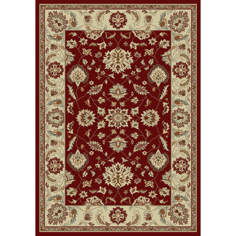 Concord Global Trading Chester Oushak Red Area Rug - KINGDOM RUGS - 1
