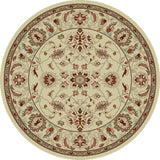 Concord Global Trading Chester Oushak Ivory Area Rug - KINGDOM RUGS - 3