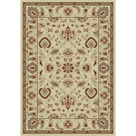 Concord Global Trading Chester Oushak Ivory Area Rug - KINGDOM RUGS - 1