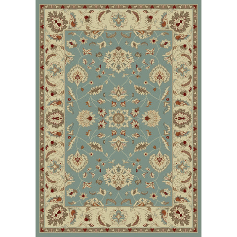 Concord Global Trading Chester Oushak Blue Area Rug - KINGDOM RUGS - 1