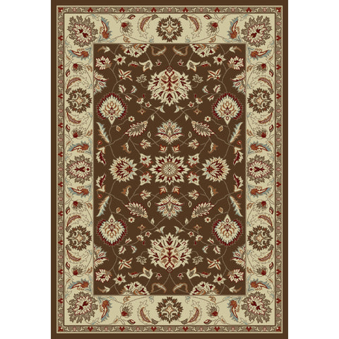 Concord Global Trading Chester Oushak Brown Area Rug - KINGDOM RUGS - 1