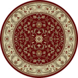 Concord Global Trading Chester Flora Red Area Rug - KINGDOM RUGS - 2