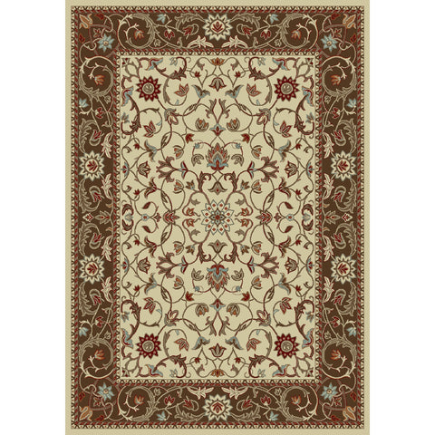 Concord Global Trading Chester Flora Ivory Area Rug - KINGDOM RUGS - 1