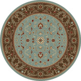 Concord Global Trading Chester Flora Blue Area Rug - KINGDOM RUGS - 2