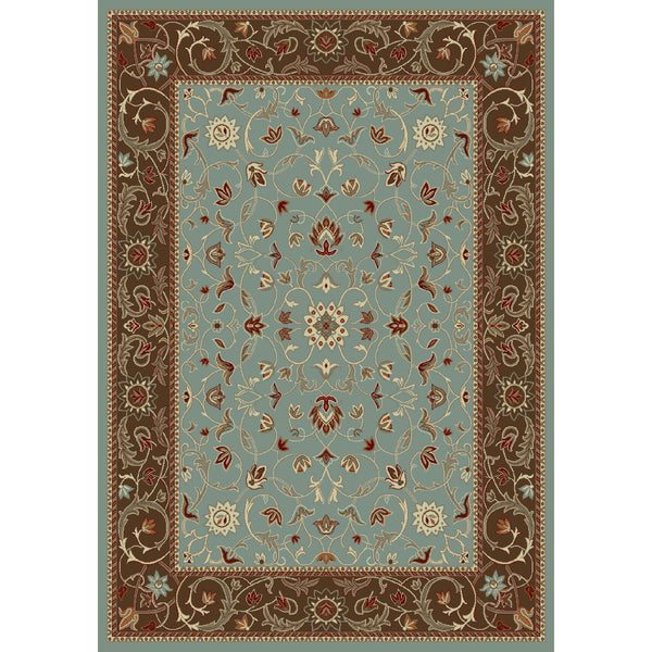 Concord Global Trading Chester Flora Blue Area Rug - KINGDOM RUGS - 1