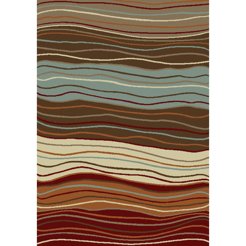 Concord Global Trading Chester Waves Multi Area Rug - KINGDOM RUGS - 1