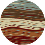 Concord Global Trading Chester Waves Multi Area Rug - KINGDOM RUGS - 3