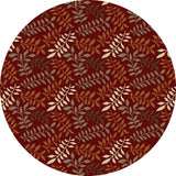 Concord Global Trading Chester Leafs Red Area Rug - KINGDOM RUGS - 2
