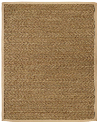 Anji Mountain Seagrass Saddleback Area Rug - KINGDOM RUGS - 1