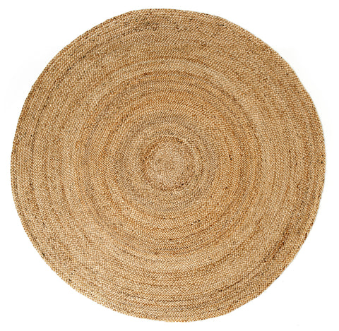 Anji Mountain Kerala Natural- Round Area Rug - KINGDOM RUGS - 1