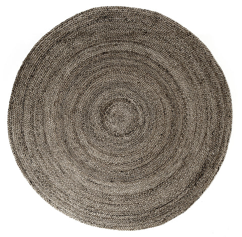 Anji Mountain Kerala Grey- Round Area Rug - KINGDOM RUGS - 1