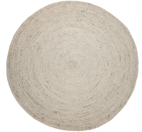 Anji Mountain Kerala Ivory-Round Area Rug - KINGDOM RUGS - 1