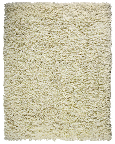 Anji Mountain Paper Shag Crème Area Rug - KINGDOM RUGS - 1