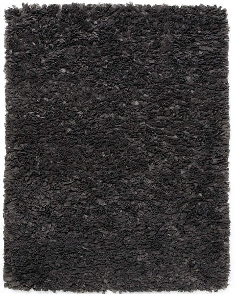 Anji Mountain Paper Shag Grey Area Rug - KINGDOM RUGS - 1