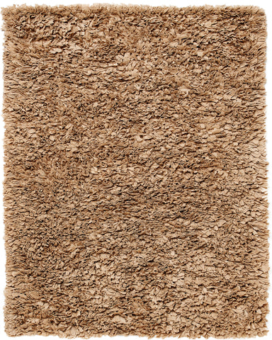 Anji Mountain Paper Shag Mocha Area Rug - KINGDOM RUGS - 1