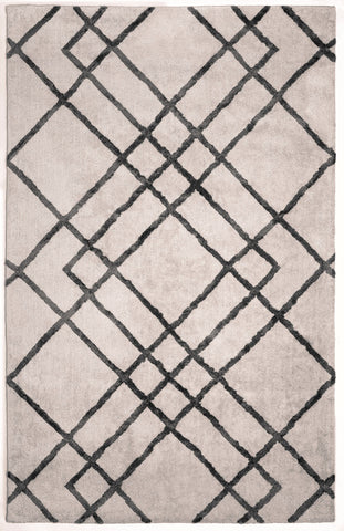 Anji Mountain Astralis Diamond Dogs Ivory/Grey Area Rug - KINGDOM RUGS - 1