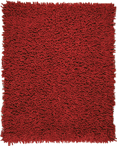 Anji Mountain Silky Shag Crimson Area Rug - KINGDOM RUGS - 1