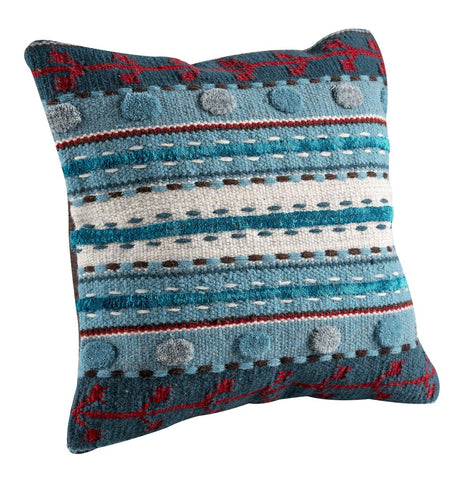 MAT The Basics Abramo Turquoise Cushions - KINGDOM RUGS
