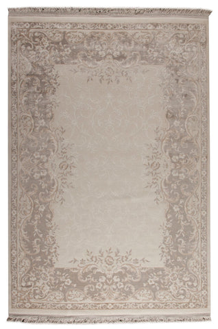 MAT Orange Abundance Beige Area Rugs - KINGDOM RUGS - 1