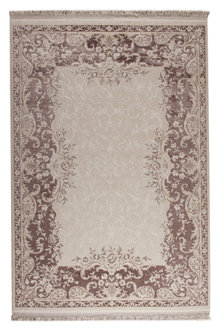 MAT Orange Abundance Brown Area Rugs - KINGDOM RUGS - 1