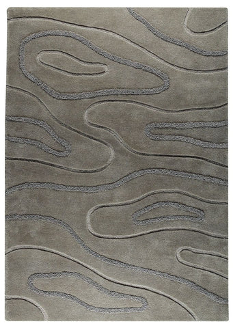 MAT The Basics Agra Grey Area Rug - KINGDOM RUGS - 1
