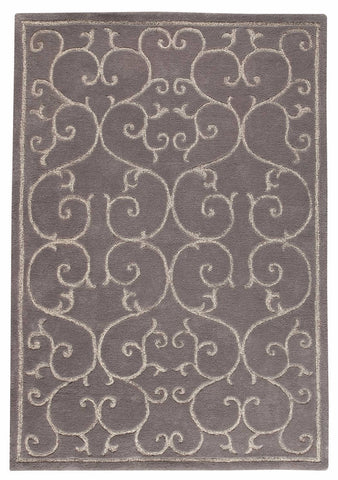 MAT The Basics Annapurna Grey Area Rugs - KINGDOM RUGS - 1