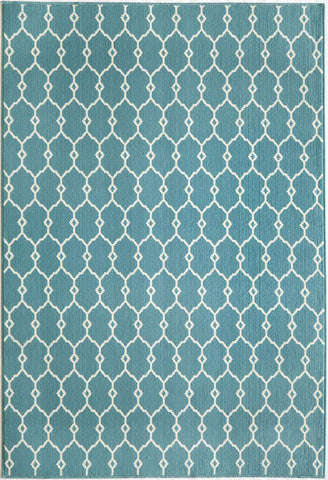Momeni BAJ-2 Blue Area Rugs - KINGDOM RUGS