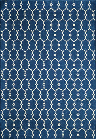 Momeni BAJ-2 Navy Area Rugs - KINGDOM RUGS
