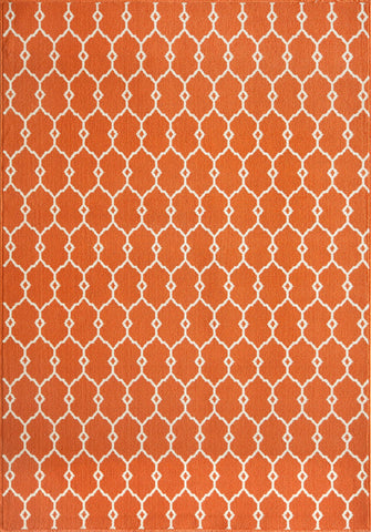 Momeni BAJ-2 Orange Area Rugs - KINGDOM RUGS