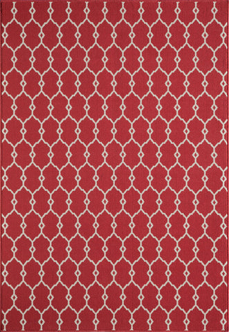 Momeni BAJ-2 Red Area Rugs - KINGDOM RUGS