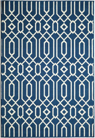 Momeni BAJ-3 Navy Area Rugs - KINGDOM RUGS